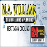 M.A. Williams, Inc. Drain Cleaning & Plumbing